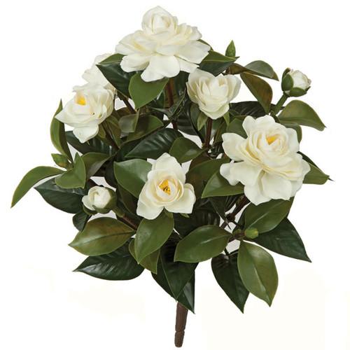 15 Inch Gardenia Bush - White