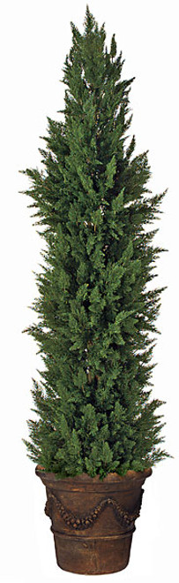 12 Foot Cypress Shrub Synthetic Trunk