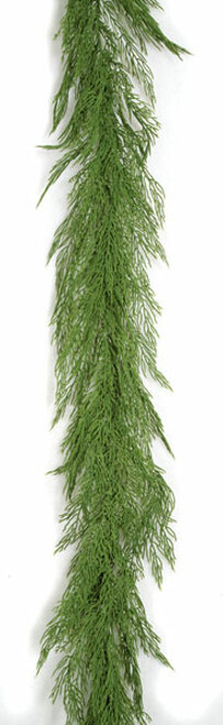 9 Foot Polyblend Bayou Garland - Green