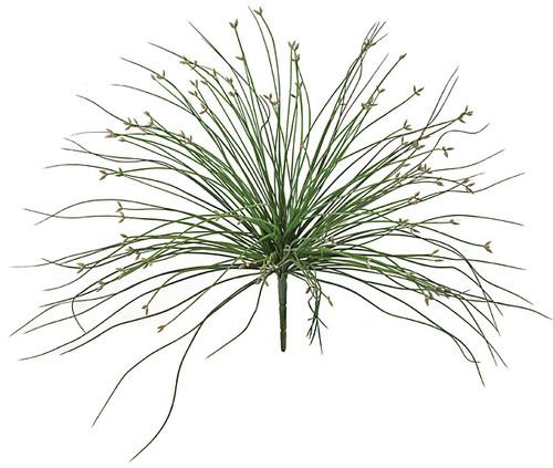 "18"" Length Bahia Grass Bush - Green/Grey"