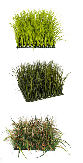 Wild Mixed Grasses Light Green, Green, or Mixed Colors