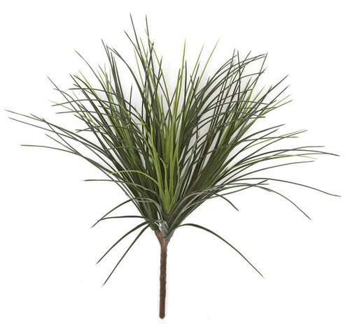"A-102330 - Tutone Green26"" Polyblend UV Onion Grass x 4 Stems"