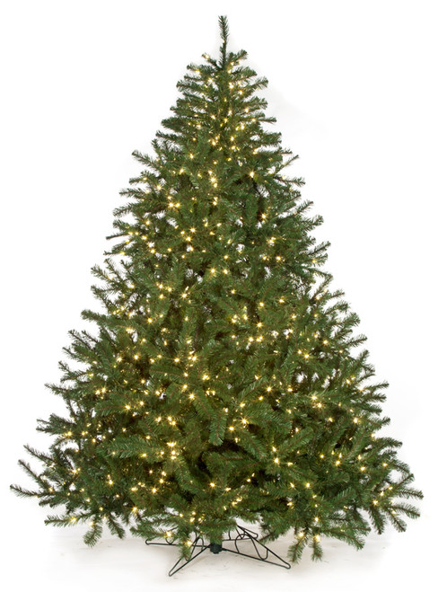 """C-72004 9' Virginia Pine with LED Lights 84"""" Width"""