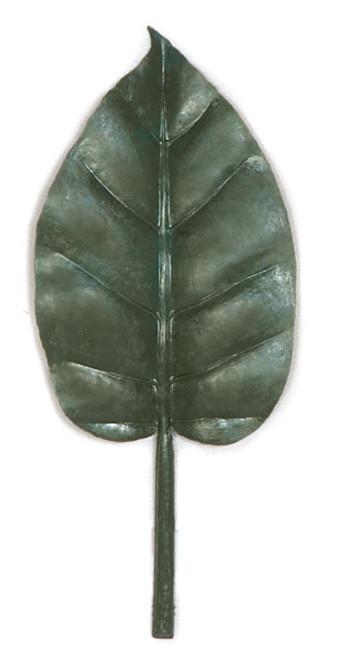 "11"" Polyblend Extra Large Banyan Leaf"