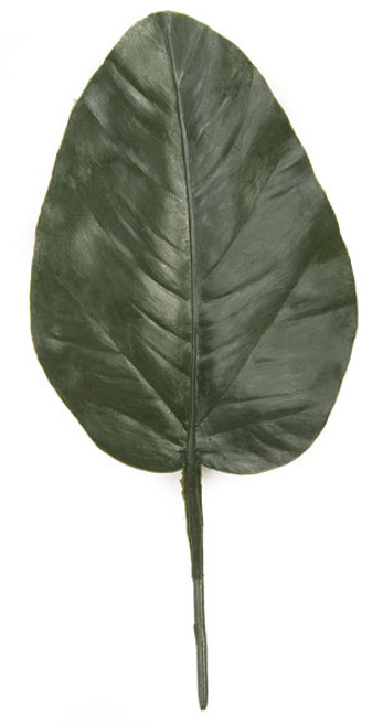 8.5 Inch Polyblend Extra Large Banyan Leaf