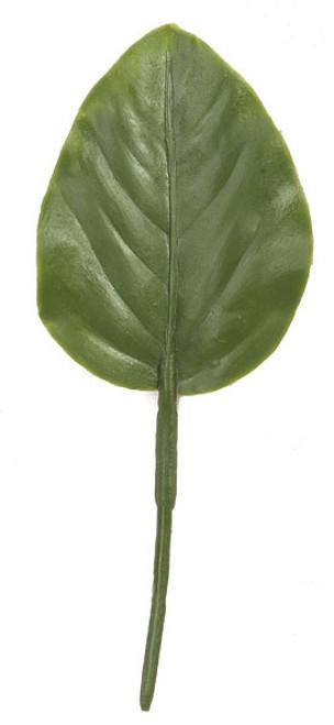 6 Inch Polyblend Small Banyan Leaf