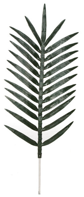5.5 Foot Polyblend Coconut Palm Branch - 25 Leaves