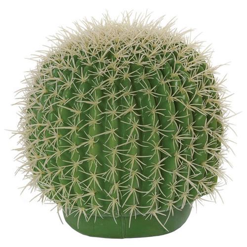 8 Inch Plastic Barrel Cactus
