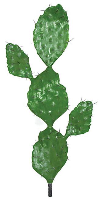 38 inch Plastic Prickly Pear Cactus