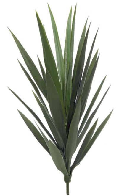 "AUV-6008126"" Plastic UV Yucca Plant - Green"