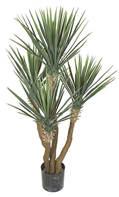 "57"" Plastic UV Rated Yucca Rostrata Plant"