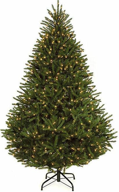 C-714717.5 ft.Mariana Fir Tree with Clear Lights