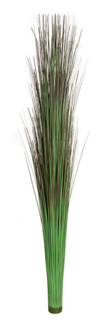 "36"" PVC Onion Grass on Tube Green/Brown Color"