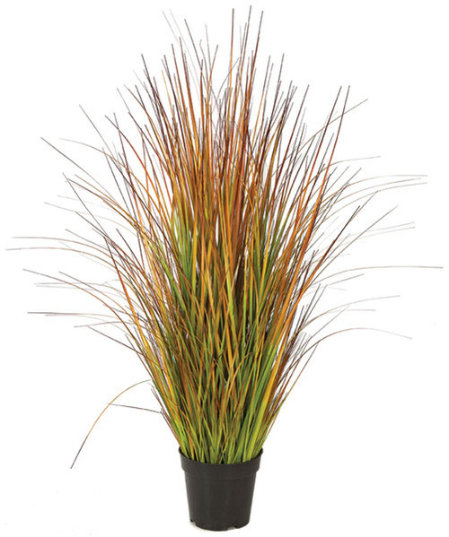 "35"" PVC Multi-Fall Onion Grass Bush"