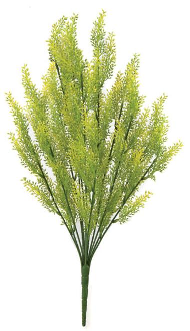 """A-131480 19"""" Verbena Bush - Yellow/Green"""