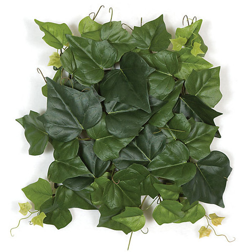 "9"" x 9""  Fire Retardant Hedera Ivy Mat 12"" Foliage Width"