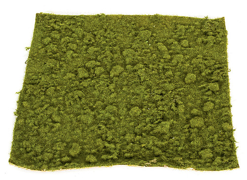 "A-111755 14"" Thin Moss Mat - Green/Brown"