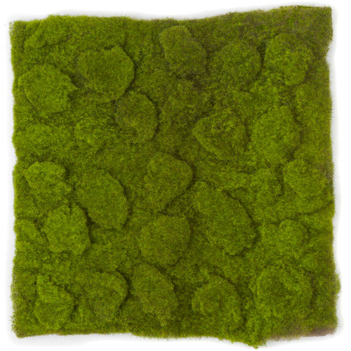 "A-111750 14"" Lumpy Moss Mat - Green Brown"