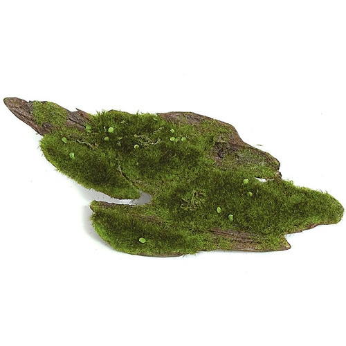"A-80250 14"" x 6.5"" Artificial Moss Tree Bark"