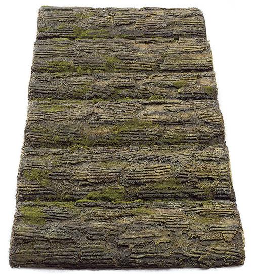 """A-60561  35"""" Long Artificial Log Mat"""