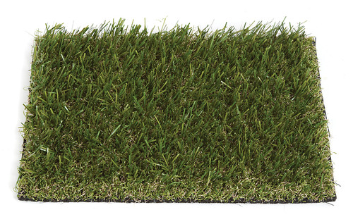 A-91919 Outdoor Landscaping Grass - 15 ft width x 1.5 in height. Olive Green Color