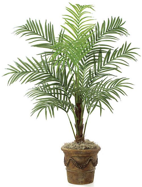 P-8204 7' Areca Palm Tree - 12 Fronds - Decorative Pot Sold Separately