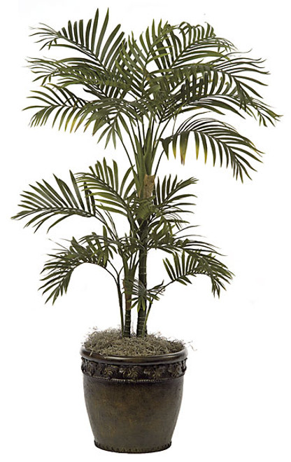 4' Areca Palm Tree  with Synthetic Trunks
