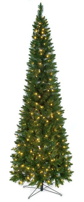 C-1607289' Christmas Pine Tree with LED Lights
