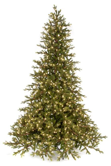 "C-1601249' Scottish Fir Tree with LED Lights73"" Width"
