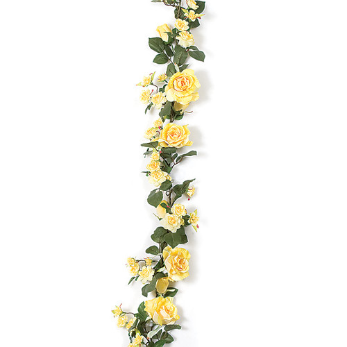 P-66072 - Yellow Rose Garland