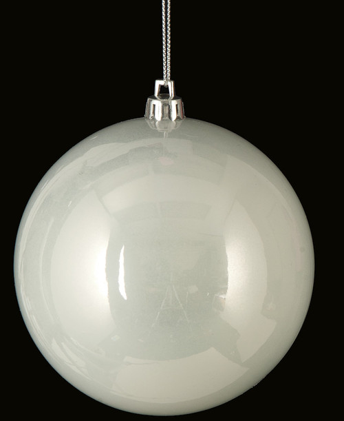 "J-161430 4"" Pearl Ball Ornament"