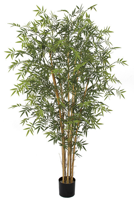 AUV-161810 LIMITED UV RESISTANCE 6' Plastic Bamboo Tree