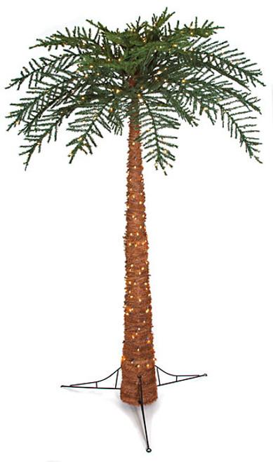 C-120328 10' Royal Palm Tree with Lights