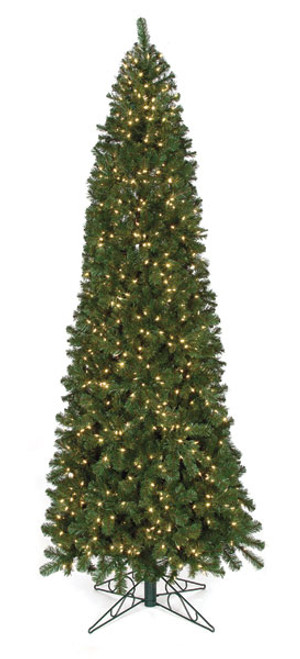 C-84834 10' Virginia Pine Tree with LED Lights