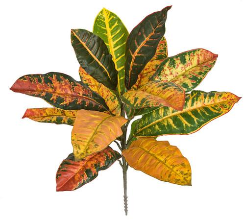 """PR-112MR 19"""" Croton Plant Multi-Color"""