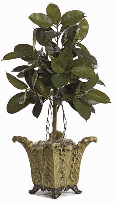W-15604' Rubber Plant Decorative Pot Sold Separately