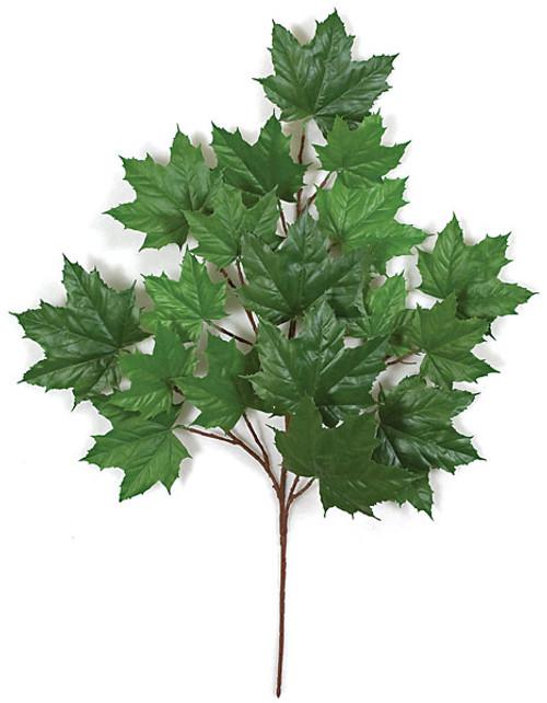 "PR-401 - Fire Retardant33"" Sugar Maple BranchDark Green"