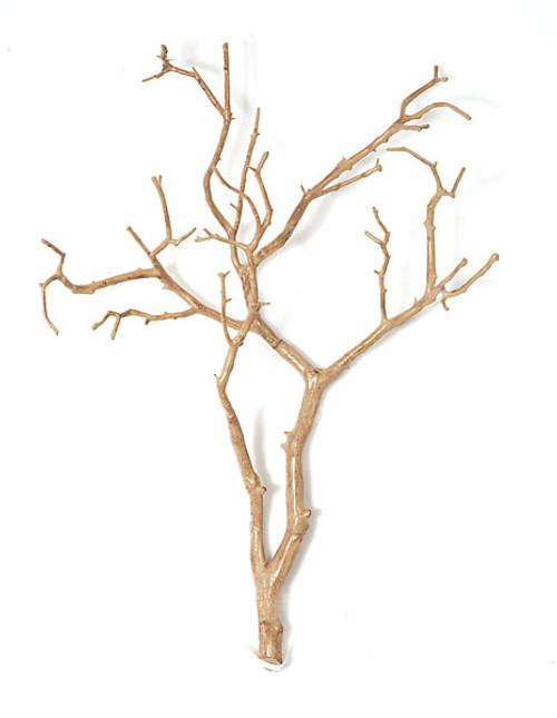 """A-8250027"""" Manzanita Wood TwigLight Brown"""