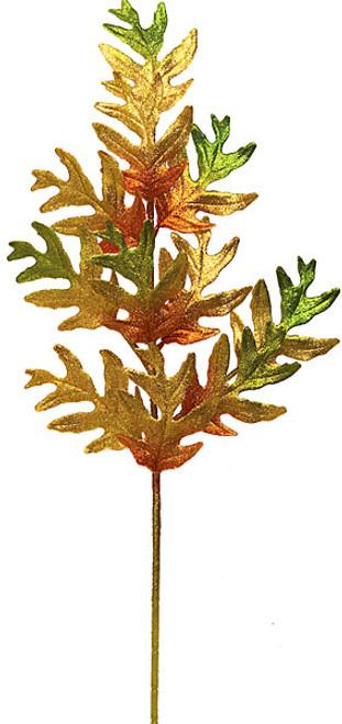 """P-6247019"""" Oak Leaf SprayGold"""