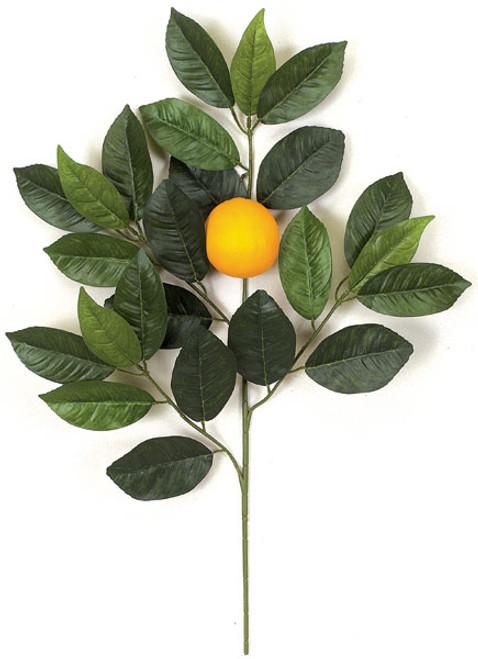 "PR-4895 - Fire Retardant 26"" Orange Branch"