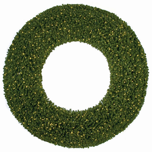 Large Commercial Pine Wreath  - NO LIGHTS