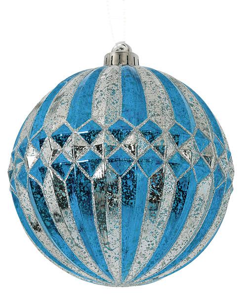 "J-1702406"" Mercury Glass Finish Ball"