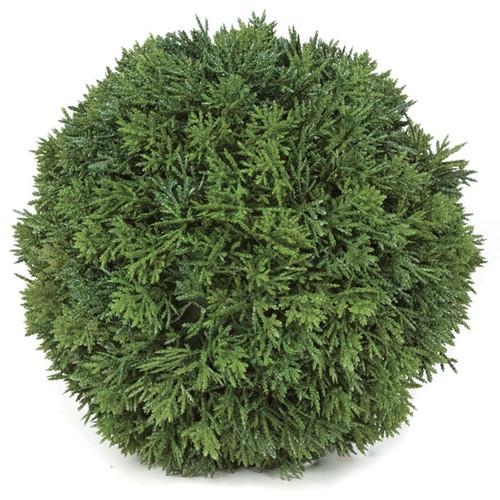 "A-1310869"" Plastic Cedar Ball Green"