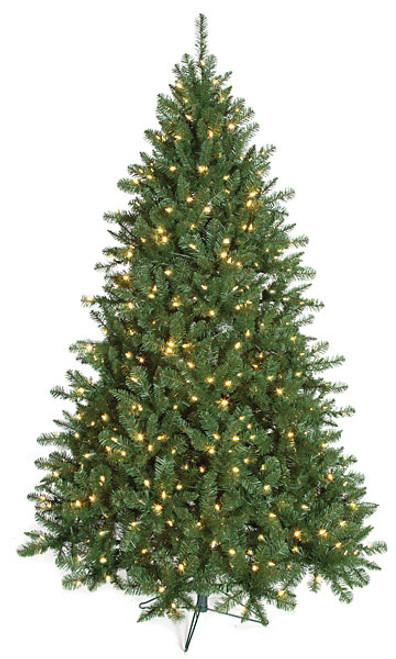 Full-Size 7.5'  Monroe Pine TreeFluff-Free