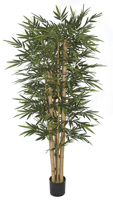 W-170300 7' Bamboo Tree with Thick/ Think Canes