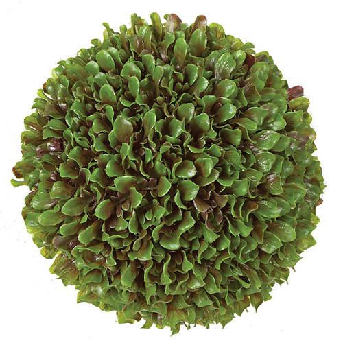 """A-130730 13"""" Orange Leaf Ball"""