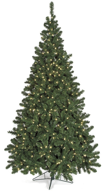 9' Winchester Pine Tree with Lights Medium Size