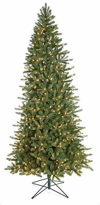 C-120110/1 9 ft. Slim Spruce Tree WITHOUT LIGHTS