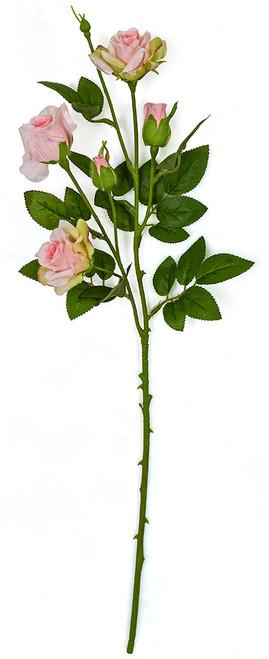 """P-180912 - Pink  23"""" Pink Rose Spray"""