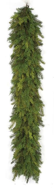 """6' Mixed Pine /Cedar Garland 14"""" Width"""